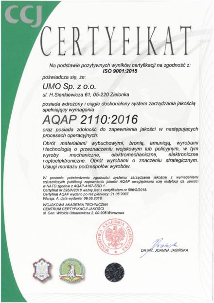 AQAP 2110